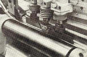 Рис. 2. Бесцентровое суперфиниширование